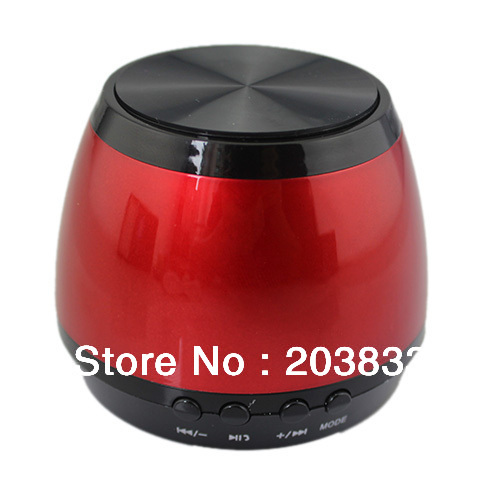 Free shipping Wireless Bluetooth TF Card Speaker New style of High Quality music player For iPhone/iPad/Samsung/cellphone