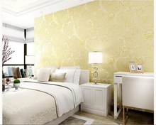 beibehang papier peint European pastoral 3D pattern non-woven romantic powder wallpaper hudas beauty papel de parede bebang цена в Москве и Питере