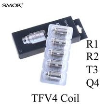 Electronic Cigarette Atomizer Clapton Coil E Cigarette Vaporizer SMOK TFV4 R1 R2 T3 Q4 Tank core RBA X1026