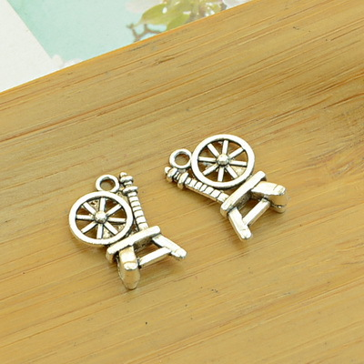 Charms Free Shipping 100pcs/lot A1997 Antique Silver Chair Shape Alloy Charm Pendant Fit Jewelry Making 18x14mm Wholesale Products Are Sold Without Limitations