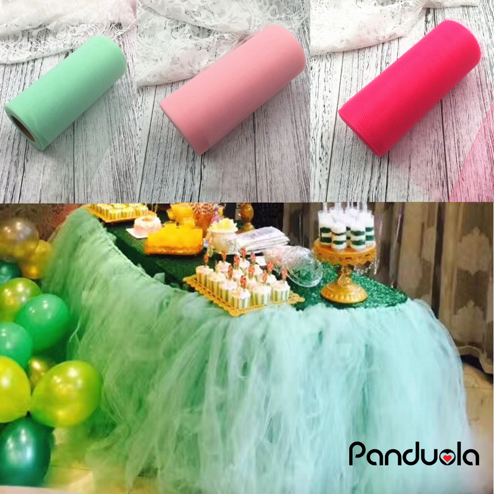 wedding decoration Tulle Roll party Tutu Gift Wrap bachelorette party decoration organza rustic wedding baby shower tulle roll
