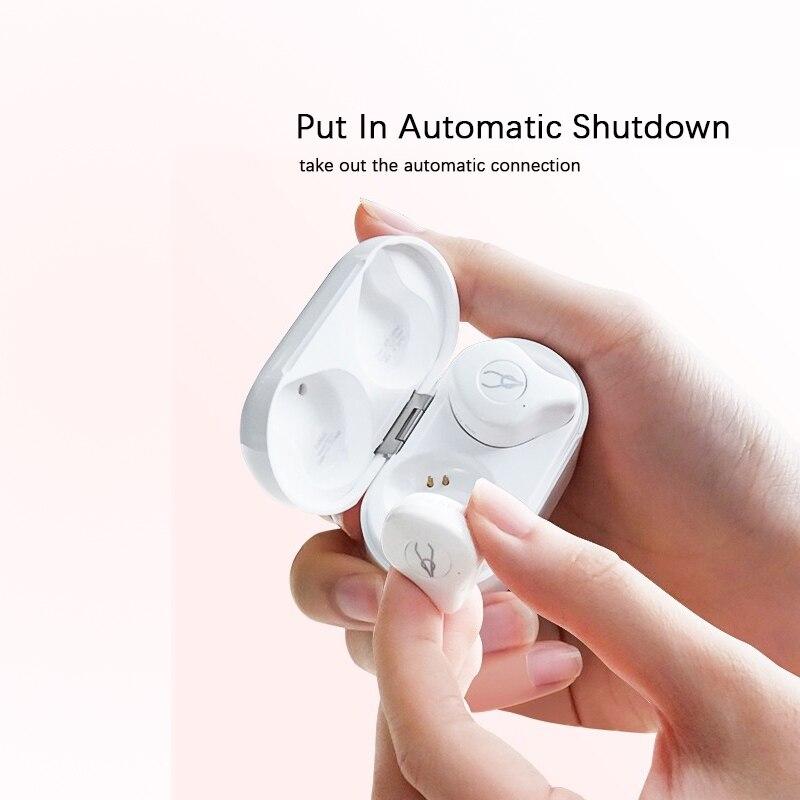 Mise à niveau Bluetooth 5.0 rose étanche sport sans fil Bluetooth casque - 3