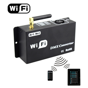 Image 1 - Led 12v wifi led controller dmx 512 controller converteren wifi signaal in dmx signaal door IOS of Android systeem controle led lampen
