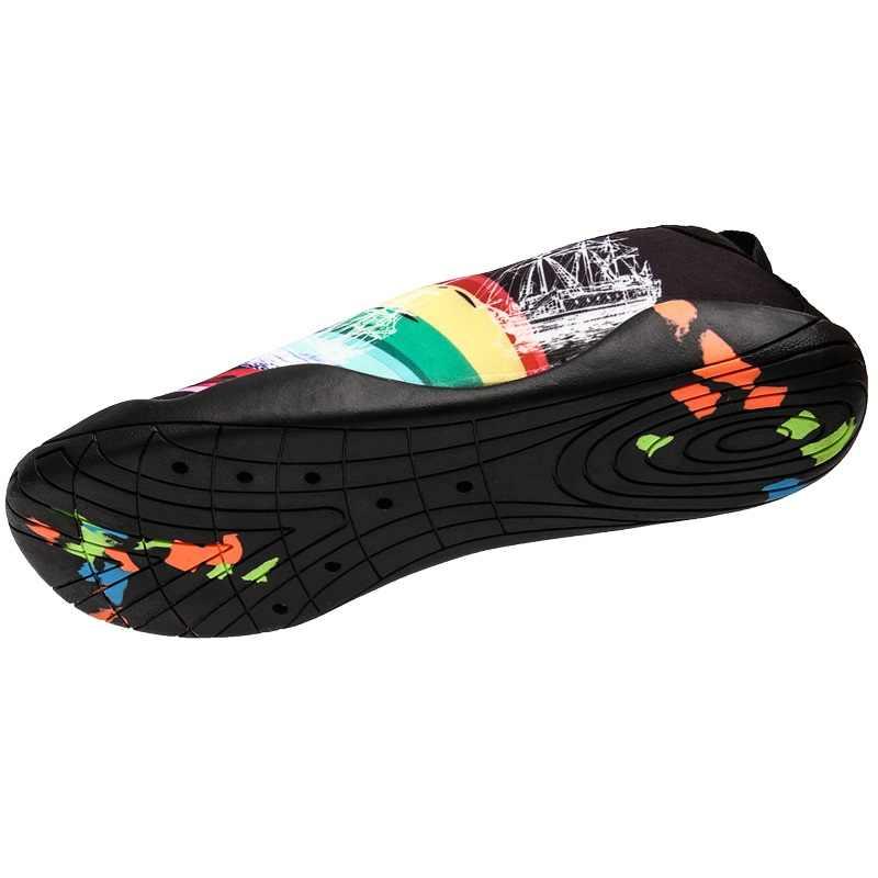 Buty do pływania kamuflaż na zewnątrz sportowe buty płócienne męskie plażowe buty do wody pływanie buty do wody