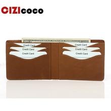 все цены на 100% Genuine Leather Men Wallet Male Credit Card Case RFID Blocking Bank ID Card Holder Luxury Wallet High Quality Porte Carte
