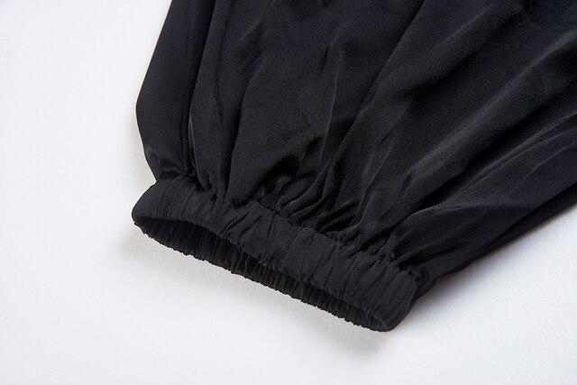 CISULI Pure Silk Stretch Pants For Autumn Kongfu Sports Pants Chinese Silk Factory Direct Sale Clothes China Free Shipping 2