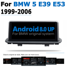 10.25 6-Core Android 8.0 up Car DVD Player For BMW 5 Series E39 E53 1999~2006 Autoradio GPS Navigation Multimedia