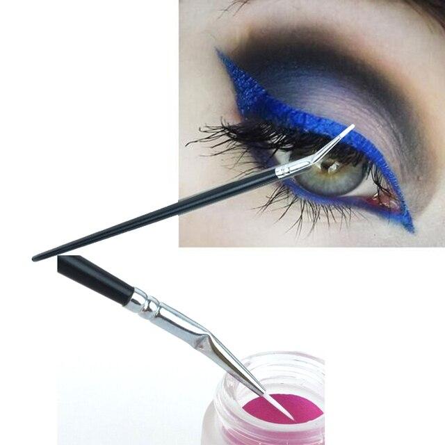 1 PC de Alta Qualidade Cosmética Profissional Pincéis de Maquiagem Líquido Eye Liner Delineador Em Gel Delineador Uma Cotovelada Escova