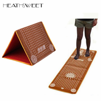 Healthsweet Tourmaline Blanket Mat Foot Massage Pad Feet Shortfalls Energy Massage Mat Walking Carpet Promote Blood Circulation
