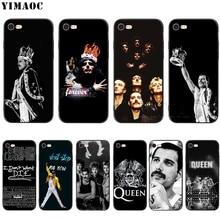 YIMAOC kraliçe Freddie Mercury silikon yumuşak kılıf için iPhone XS Max XR X 8 7 6 6 S artı 5 5 S SE