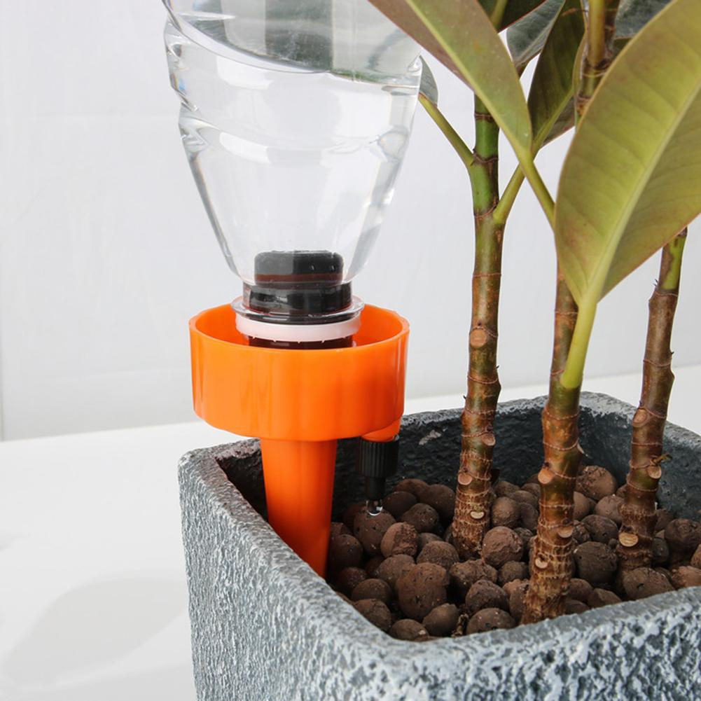 6PCS or 12PCS Automatic Watering Device Self Watering Spike Slow Release Vacation Plants Watering System PP Irrigation Plants-in Garden Water Connectors from Home & Garden