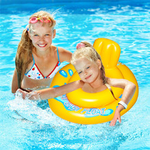 Baby Inflatable Circle Swimming Circle for Kids Swim Pool Accessories with Gifts Toys Swimtrainer Baby Float Zwemband 2019 relaxing baby circle float swimming ring for kids swim pool bathing accessories with gifts dropshipping