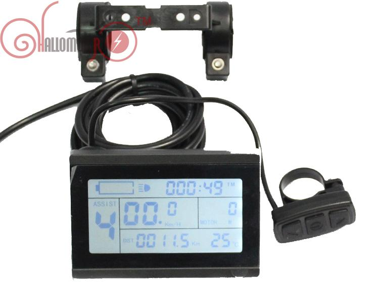 ФОТО Lowest Price Free Tax 24V 36V 48V ebike LCD3 Display Control Panel For Electric Bicycle KT Controller Conversion Parts