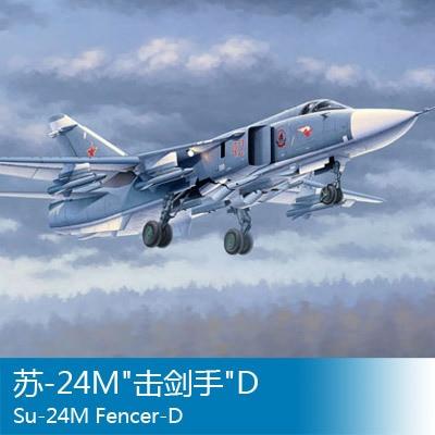 Assembly model Trumpet 1/48 Soviet -24M fencer D aircraft Toys кик fencer кс730 14 7x16 5x114 3 d67 1 et50 алмаз черный