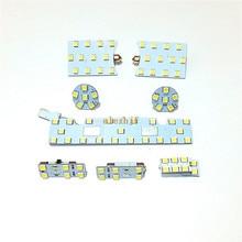 Июля King светодиодный автомобиля для чтения декоративные огни чехол для Seat Leon MK3 2013~ и т. д, 8 шт./компл., 6000K 79 светодиодный s 5050SMD