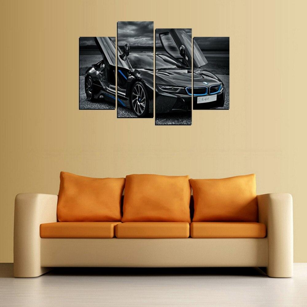 Colorful Black Canvas Wall Art Mold - Art & Wall Decor - hecatalog.info