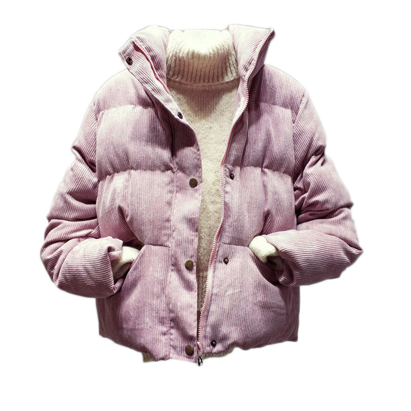 Thick Parka Women 2018 New Winter Jacket Women Short Cotton Padded Coat Female Zipper Outerwear Casual Student Jacket EV148-in Parkas from Womens Clothing on Aliexpresscom  Alibaba Group