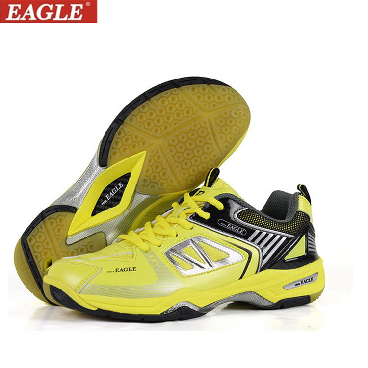 ФОТО 2017 New Badminton Shoes for men and women Leather Indoor Shoes Court Hard-wearing Sneakers Badminton Training Shoes