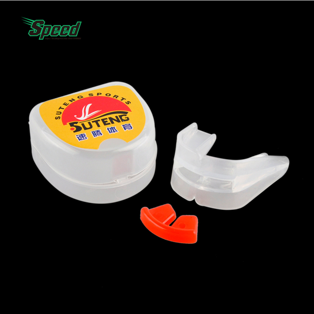 921591ad94d SUTENG Silicone Boxing Braces Mouthguard Double-Sided Teeth Mouth Guard  Teeth Protect Tool For Outdoor Boxing Safety Protection