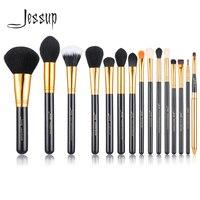 Jessup Pro 15pcs Makeup Brushes Set Powder Foundation Eyeshadow Eyeliner Lip Brush Tool