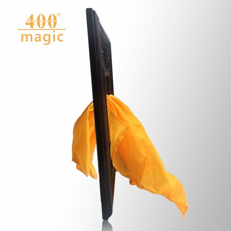 Miroir en soie (soie + miroir) magie de scène, accessoire magique, magie drôle, tours de magie, magie gimmick 400