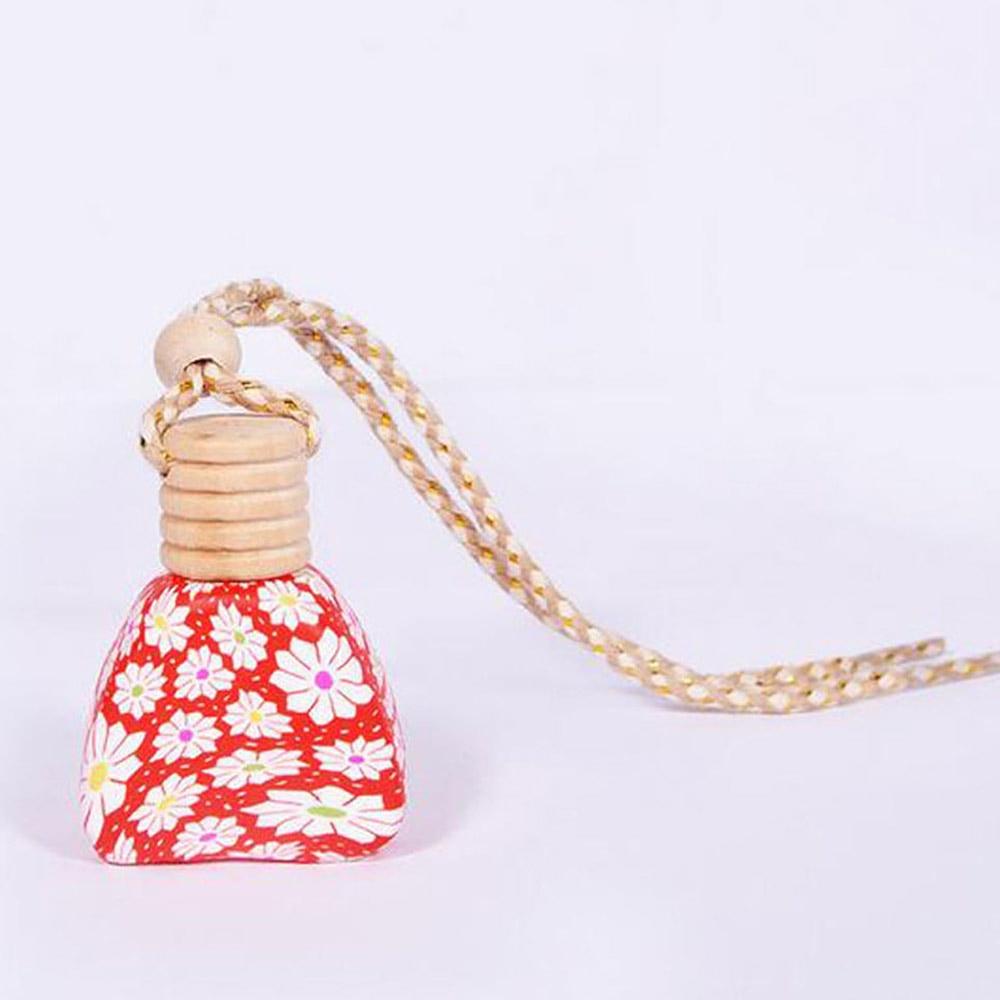 15 мл стекло эфирное масло автомобильный парфюм Универсальный ароматерапия духи бутылки долговечные авто аксессуары полимерные бутылки с глиной