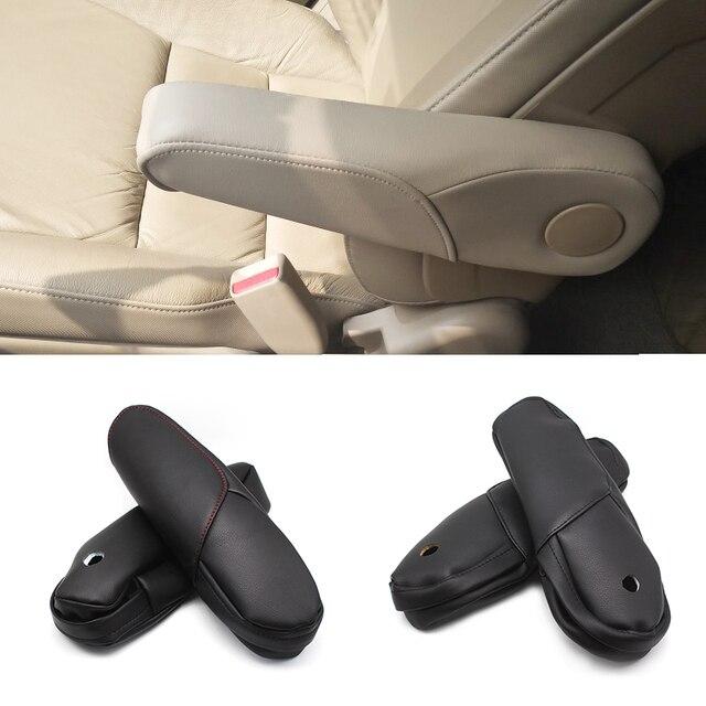 محرك سيارة هوندا CRV 2007 2008 2009 من الألياف الدقيقة/مقبض ذراع مقعد الركاب الجانبي للتزيين غطاء الحماية