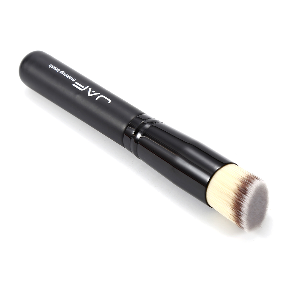 JAF 1pc makeup brush black Angled Multi function Face Makeup Brush Liquid Foundation Contour Powder Make Up Slant Brush