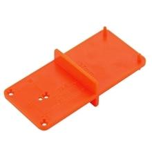 2 шт. 35 мм 40 мм отверстие локатор двери Деревообработка практичная открывашка шаблон сверление руководство оранжевый шкафы Diy инструмент шарнир прочный