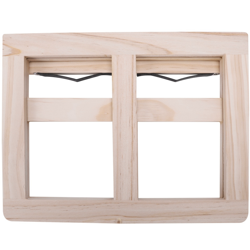 Wooden Frame Reading Bookshelf Bracket - Book Reading Bracket Tablet PC Support Music Stand-2#