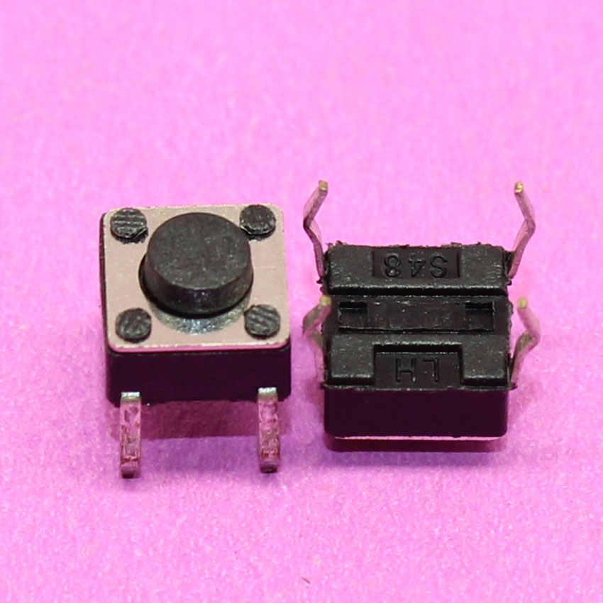 Cltgzdd 1 ~ 100 pièces 4pin 6*6*4.3mm panneau PCB momentané Tactile bouton poussoir Micro interrupteur 4 broches DIP lumière Tactile 6x6x4.3mm