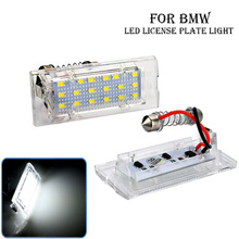 automobile License plate lamp For BMW E53 X5 E83 X3 LED License plate lamp все цены
