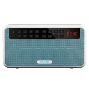 Image 3 - カードラジオポータブルミニ Bluetooth スピーカーワイヤレスハンズフリー Fm ラジオサポート TF カードプレイとレコーダーと懐中電灯