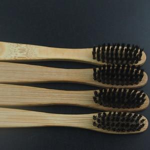Image 4 - DR. PERFECT 100 шт./лот деревянная мягкая Экологически чистая бамбуковая язык зубная Щетка скребок уход за полостью рта мягкая щетина