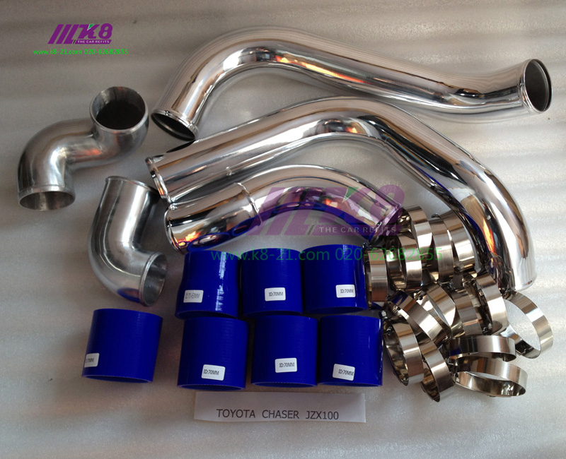 FRONT MOUNT TURBO INTERCOOLER Pipe KIT FOR TOYOTA CHASER CRESTA MARK II JZX100/90