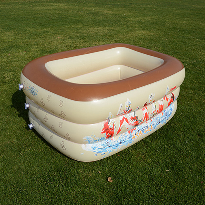 Portable Baby Inflatable Swimming Water Pool Square Style Children Bathing Pool Bathtub PVC Piscina Bebe Zwembad Thick and Safe funny summer inflatable water games inflatable bounce water slide with stairs and blowers