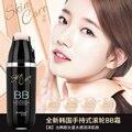 Fácil de llevar rodillo fundación crema bb corrector pecas eliminar natural bloque impermeable coreano belleza cosméticos naked crema cc