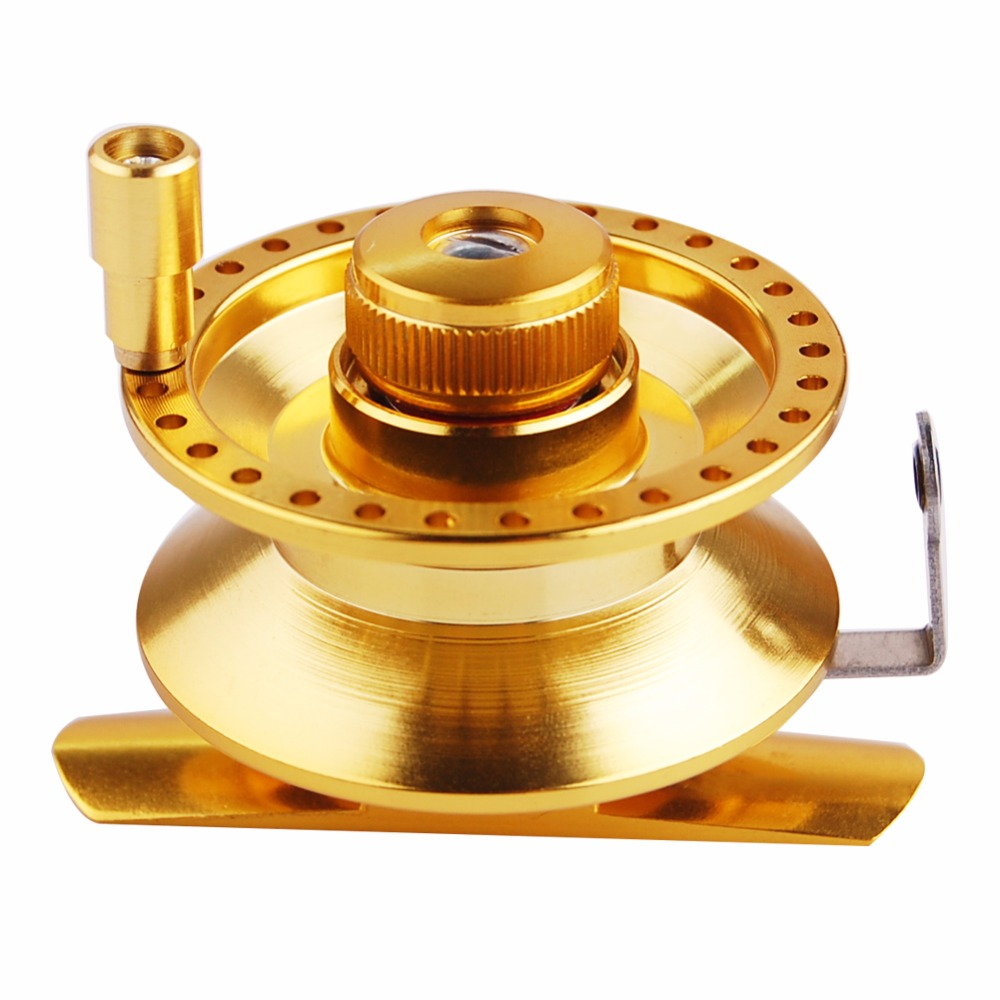 Lumiparty High Foot Raft Fishing Reel Ball Bearing automatic cable reels raft wheel raft rod stem wheel micro lead reel