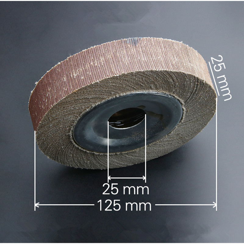Grinding Wheel Polishing Emery Abrasive Paper Buffing Tool Accessories Cepillo De Pulido
