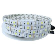 5m led ribbon RGBW RGBWW Light Strip 12V SMD 5050 60leds/m Waterproof IP65 LED diode tape lamp for TV backlight Home Decoration все цены