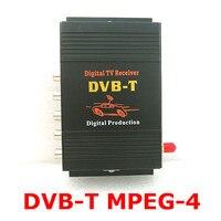 M-588X Car TV Tuner DVB-T MPEG-4 Digitale TV BOX Ontvanger Mini TV Box gebruik in Europa