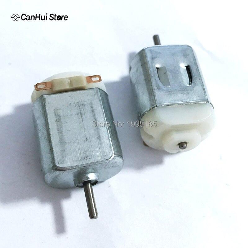 Brushed DC Motor 3V 6V 7.2V 21000RPM 130 Micro Electric Motor for Toy Car DIY