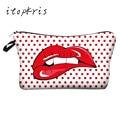 Hot Sale 3D Printing Pattern Makeup Bag Women Cosmetic Bag Party Ladies Dressing Case Necessaire Travel Toiletry Bag