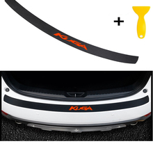 Carbon Fiber Styling After Guard Rear Bumper Trunk Plate Car Accessories for Kuga....