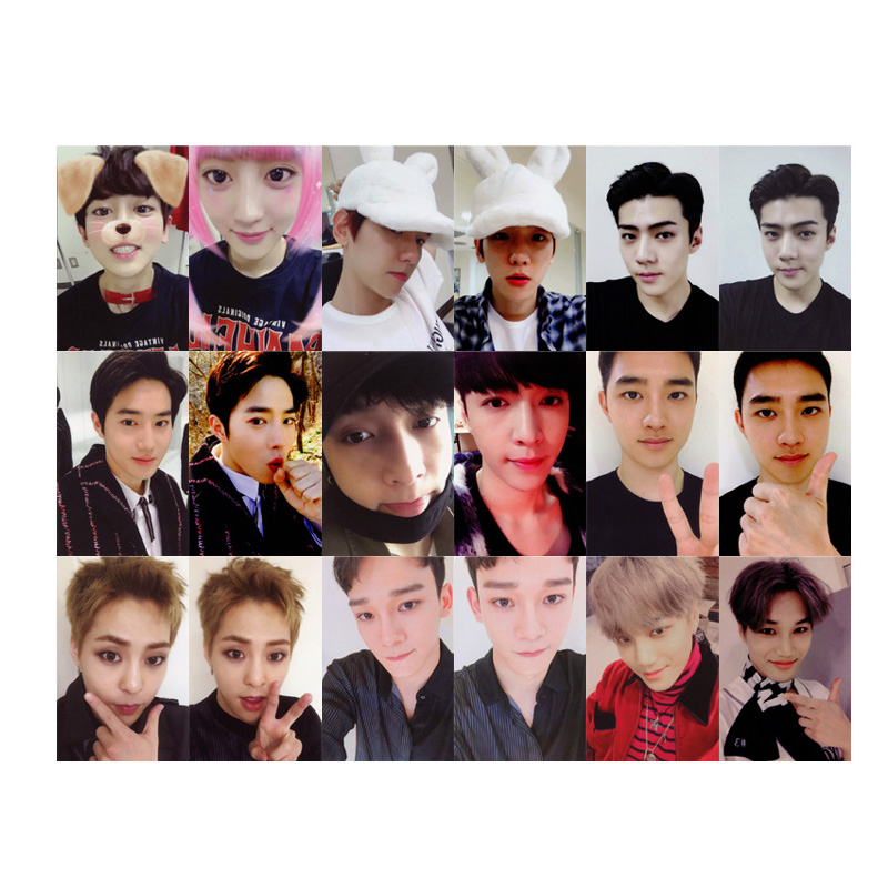 Beads & Jewelry Making Obedient Kpop Exo For Life Album Photo Card Hip Hop Self Made Paper Cards Autograph Photocard Xk392