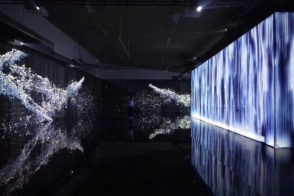 Écran de gaze Holo 3D, écran de filet Holo, écran holographique pour le lancement du produit, test d'échantillon