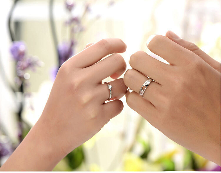 15 Off Adjustable Couple Commitment Rings For Men And Women Wedding