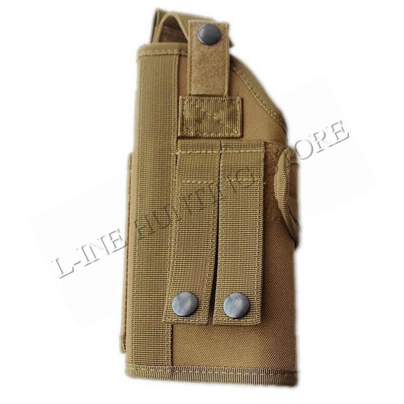 Coldre de Pistola Case de Arma Ajustável Belt Militar Molle Colete Tático Airsoft Caça Bolsa Tornado Vários Nylon Verticais