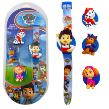 PAW PATROL action toy figures children's toy watch 4 dolls push cover replacement electroni
