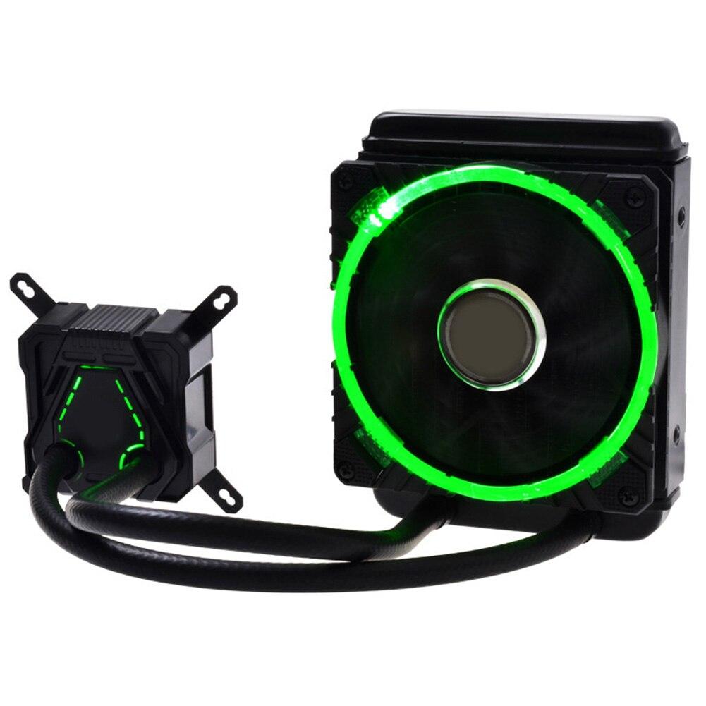 все цены на 120 CPU Liquid Cooler Cooling Radiator Fan Heatsink For Intel LGA2011 115x 775 AMD EM88